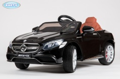 Электромобиль BARTY Mercedes-Benz S63 AMG (HL-169) черный глянец