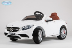 Электромобиль BARTY Mercedes-Benz S63 AMG (HL-169) белый