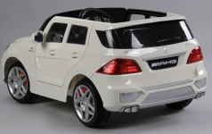 Электромобиль Mercedes Benz ML63 AMG Luxe white